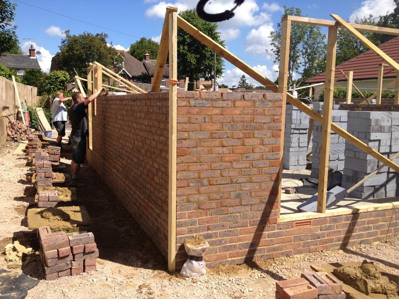 Omurca Ltd Edenbridge | Building of new semi-detached 3 bedroom houses