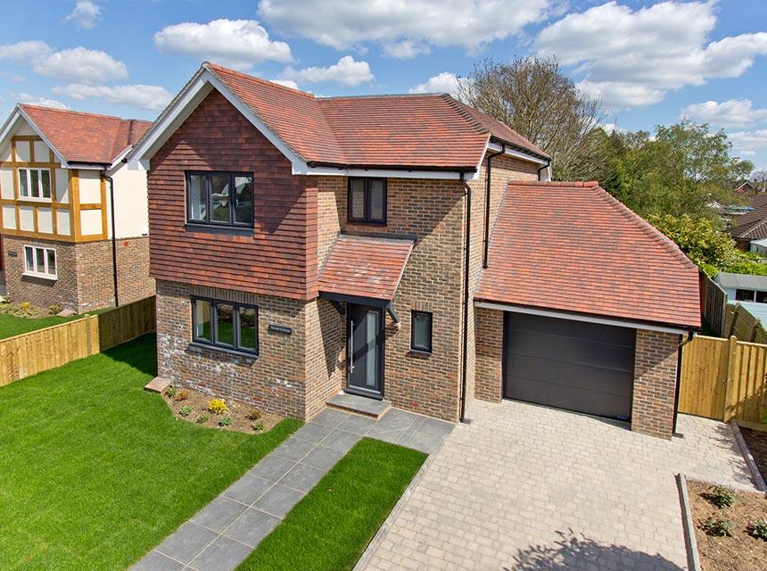 Omurca Ltd Edenbridge - 2017 Two Detached 3 Bedroom New Build - Manor Cottage