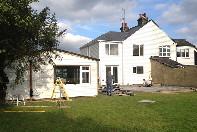 Hill View, Pootings : Demolition & 4 Bedroom Extension (completed)