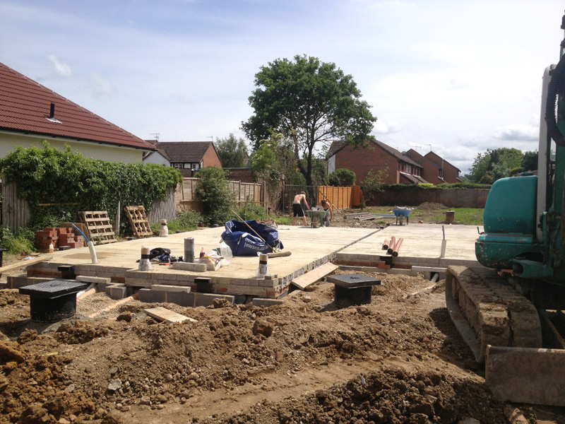 Omurca Ltd Edenbridge | Construction of new semi-detached 3 bedroom houses