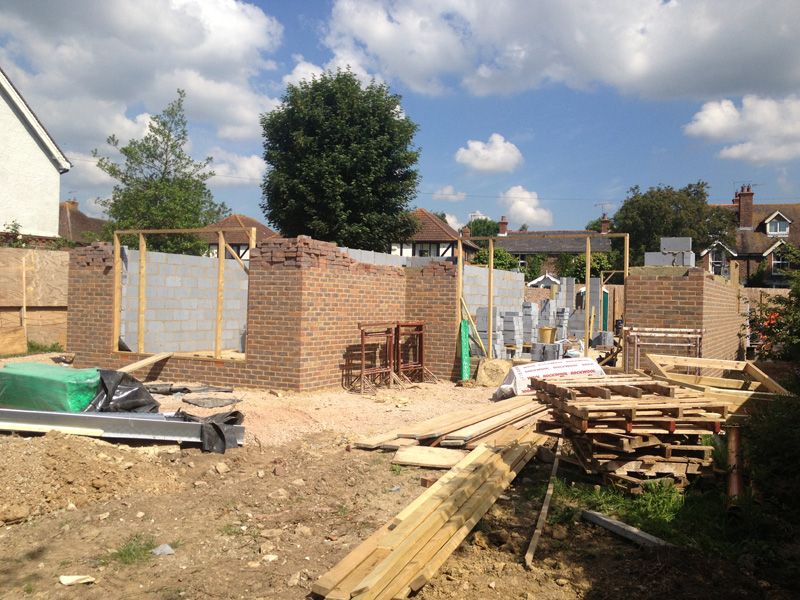 Omurca Ltd Edenbridge | Building of new semi-detached 3 bedroom houses